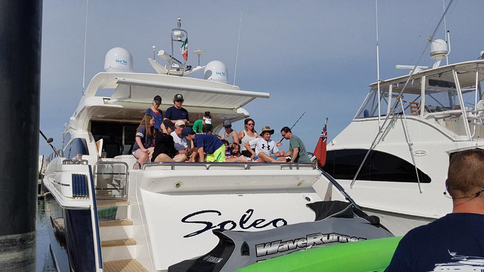 78ft Princes yacht