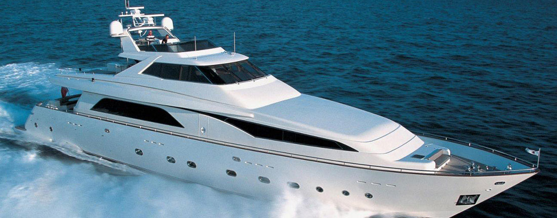 Fleet luxury yachts